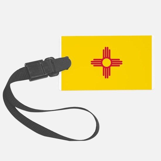 New Mexico flag Luggage Tag