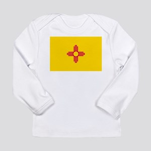 New Mexico flag Long Sleeve Infant T-Shirt