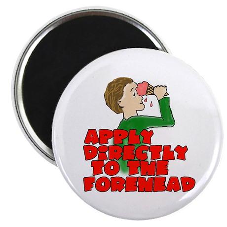 "Ice Cream Headache 2.25"" Magnet (100 pack)"