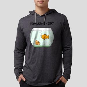 Custom Goldfish Bowl Mens Hooded Shirt