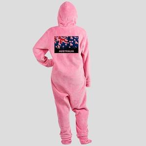 Australia World Cup Footed Pajamas