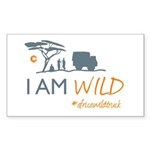 AfricaWildTruck Sticker (Rectangle 50 pk)