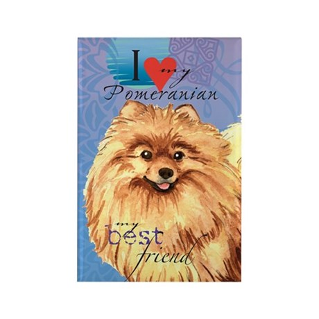 Pomeranian Rectangle Magnet