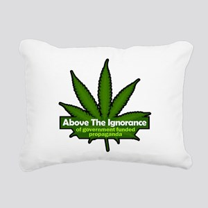 Above the Ignorance Rectangular Pillow