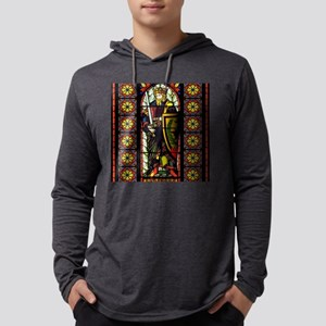 StainedGlassTile Mens Hooded Shirt