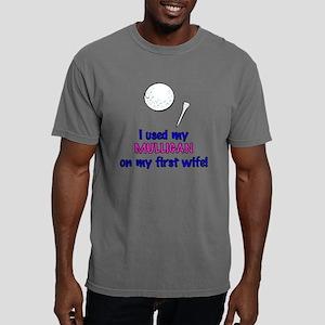 mulligan wife 2 Mens Comfort Colors Shirt