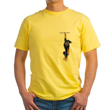 Clingy Rottie Yellow T-Shirt