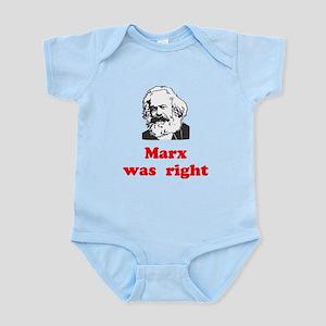 Marx was right #3 Infant Bodysuit