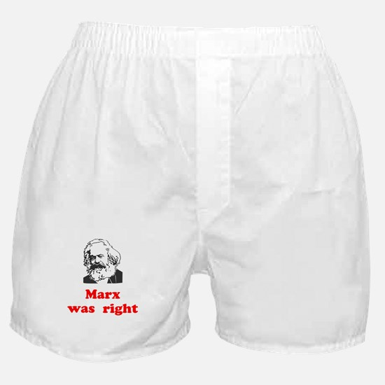Marx was right #3 Boxer Shorts