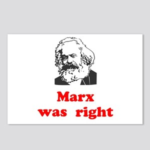 Marx was right #3 Postcards (Package of 8)