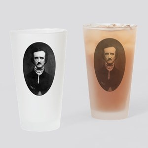 Edgar Allan Poe Drinking Glass