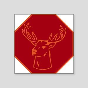 "buck stops here Square Sticker 3"" x 3"""
