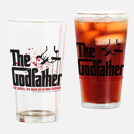 The Godfather Logo Drinking Glass