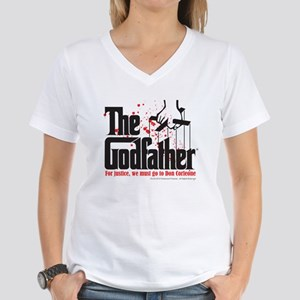 The Godfather Women's V-Neck T-Shirt