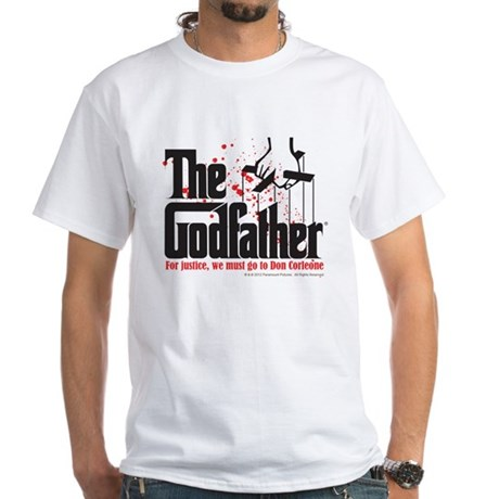 The Godfather White T-Shirt