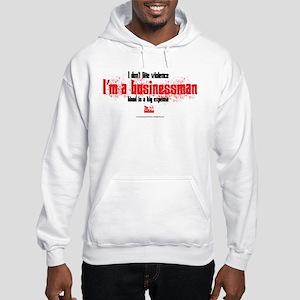 Businessman Hooded Sweatshirt