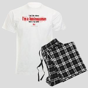 Businessman Men's Light Pajamas