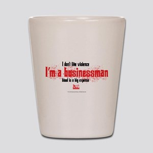 Businessman Shot Glass