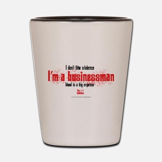 Businessman Shot Glass