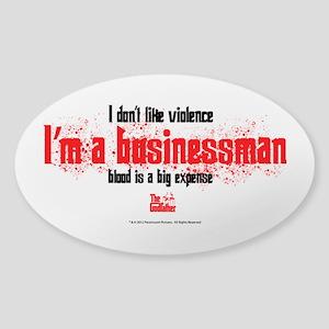 Businessman Sticker (Oval)