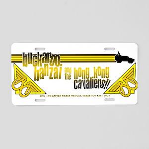 2009 Buckaroo Banzai Tour Aluminum License Plate