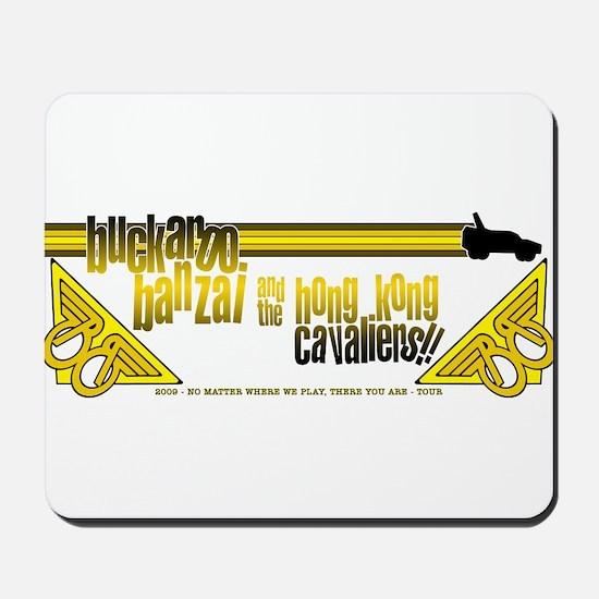 2009 Buckaroo Banzai Tour Mousepad