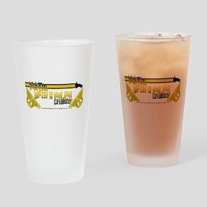 2009 Buckaroo Banzai Tour Drinking Glass