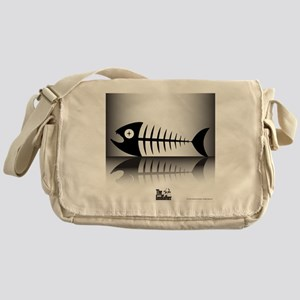 Sleeping Fish Messenger Bag