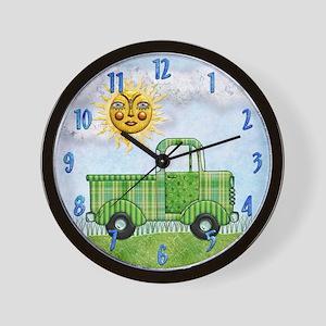 Harvest Moons Classic Truck Wall Clock
