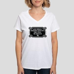 Back In Women's V-Neck T-Shirt