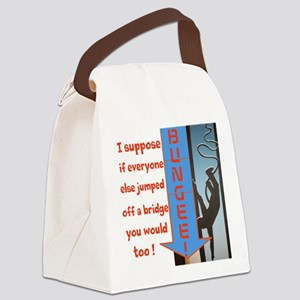 BUNGEE ! Canvas Lunch Bag