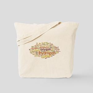 Chemical Elements Word Cloud Tote Bag
