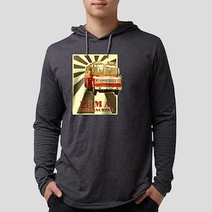 time-machine-lima Mens Hooded Shirt