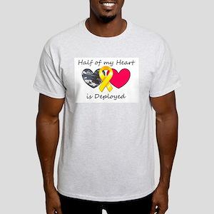 Half of my Heart Blue Camo Light T-Shirt