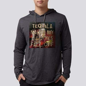 TequilaMakesMyClothesWt Mens Hooded Shirt