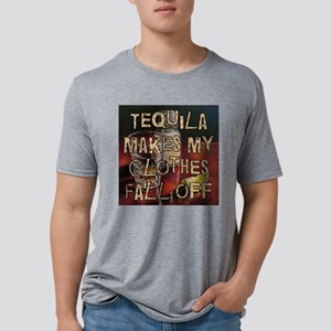 TequilaMakesMyClothesWt Mens Tri-blend T-Shirt