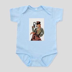 Steampunk Anime Girl Infant Bodysuit