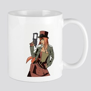 Steampunk Anime Girl Mug