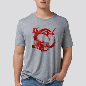 PMD-Trk_Red Mens Tri-blend T-Shirt