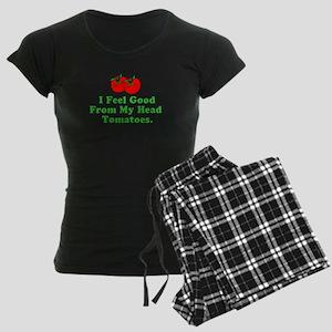 Feel Good Tomatoes Women's Dark Pajamas