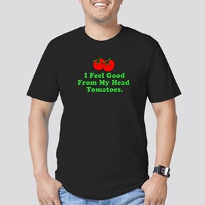 Feel Good Tomatoes Men's Fitted T-Shirt (dark)