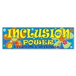 Inclusion Power Bumper Sticker