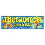 Inclusion Power Bumper Sticker