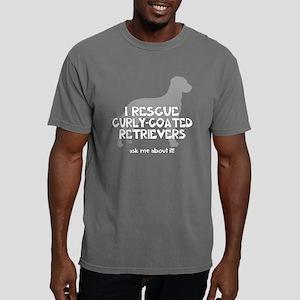 3-IRescuecurlycoatedretr Mens Comfort Colors Shirt