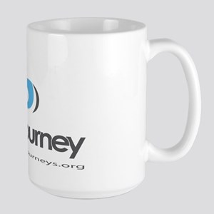 Blue Journey - Large Mug