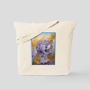 Elephant, wildlife art! Tote Bag