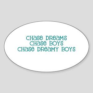 Chase Dreamy Boys Oval Sticker