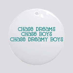 Chase Dreamy Boys Ornament (Round)