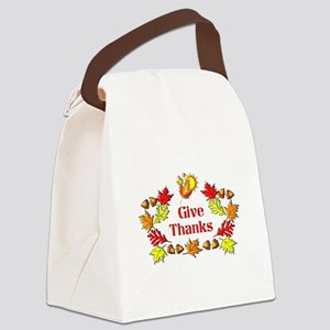 Give Thanks Canvas Lunch Bag