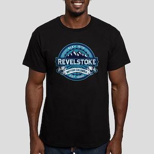 Revelstoke Ice Men's Fitted T-Shirt (dark)